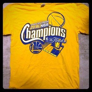 Vintage 2015 Warriors Championship Shirt